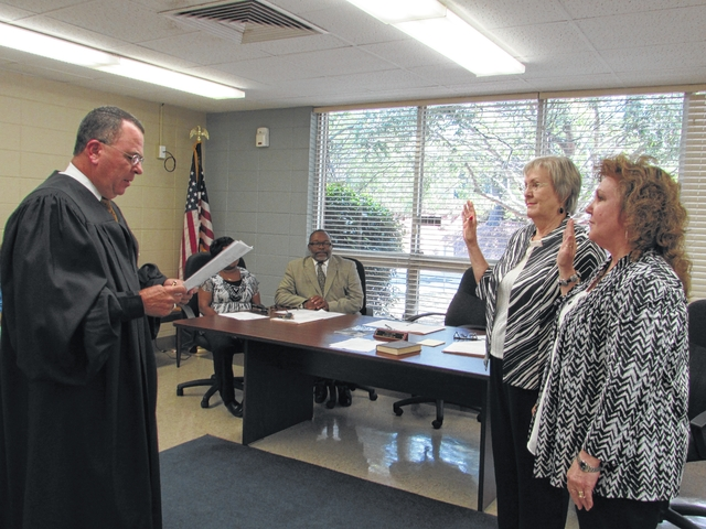 New Board of Elections sworn in