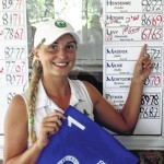 Levy earns medal in golf