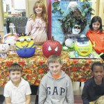 Wadesboro Primary School holds first annual pumpkin decorating contest
