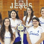 Shorthanded Lady Saints' season ends
