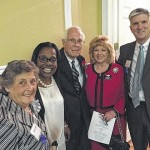 Commissioner Sturdivant attends reception honoring former Sen. Bill Purcell