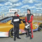 Union County race team testing at Rockingham Speedway