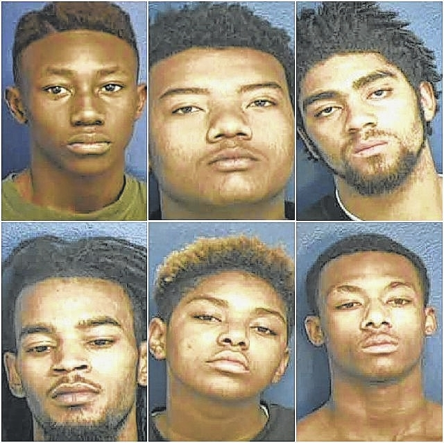 Authorities: 7 charged in robbery, shooting case