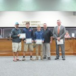 Anson Middle basketball, wrestling teams, spelling bee winners recognized