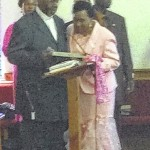 Church honors former Anson County NAACP president's daughter