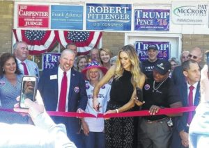 Lara Trump opens Union Co. GOP headquarters