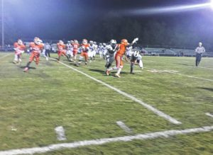 Team lost to Cuthbertson last Friday