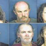 6 charged in Lilesville meth bust