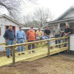 Ramp built for Lilesville man