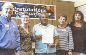 Anson County woman writes story, earns certificates in prison