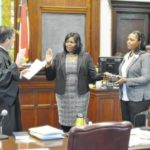Burch admitted to practice of law in Anson County, N.C.