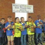 Cub Scouts hold Pinewood Derby