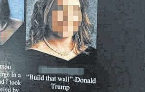 Richmond Early College student's use of Trump's 'Build that wall' quote leads to yearbooks being yanked